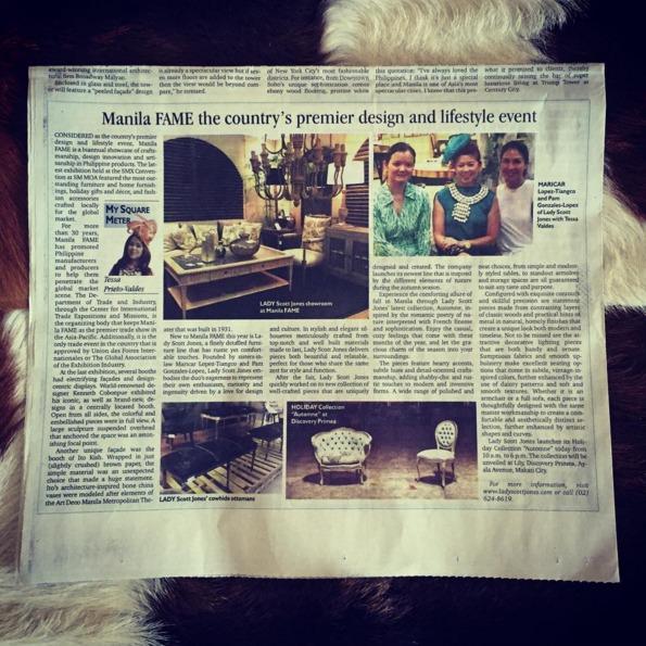 Manila FAME press